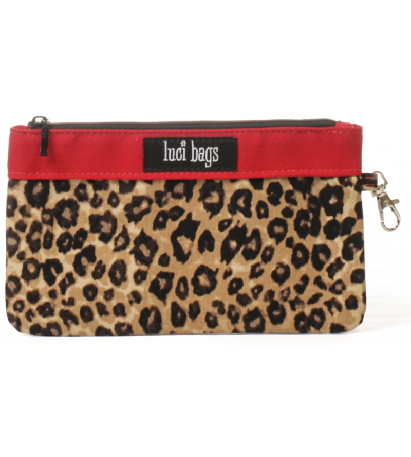 Leopard Small Accessory Bag