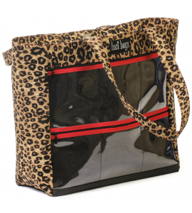 Leopard Large Display Tote