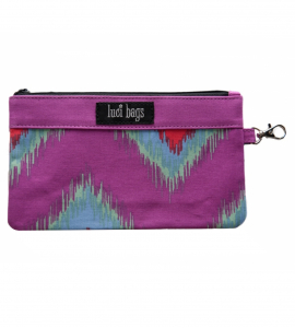 Blazing Ikat Small Accessory Bag