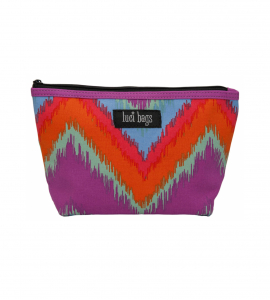Blazing Ikat Small Pouch