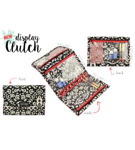 Midnight Mosaic Clutch