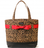 Leopard Bow Tote