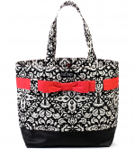 Midnight Mosaic Bow Tote