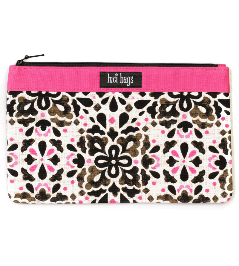 Peony Pop Large Accessory Bag
