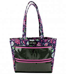 Plum Paisley Original Display Tote