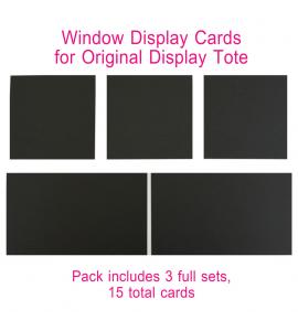 Window Insert - Original Display Tote