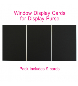 Window Insert - Display Purse