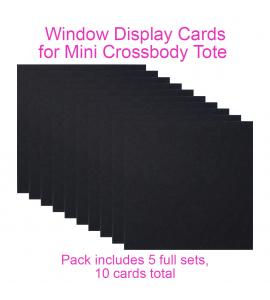 Window Insert - Mini Crossbody Display Tote