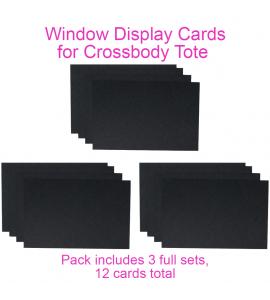 Window Insert - Crossbody Tote