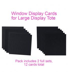 Window Insert - Large Display Tote