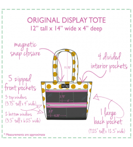 Peony Pop Original Display Tote