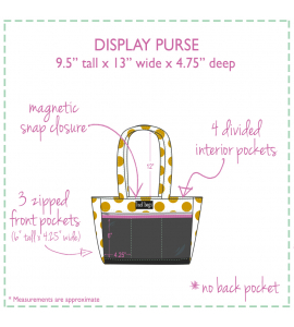 Calypso Display Purse